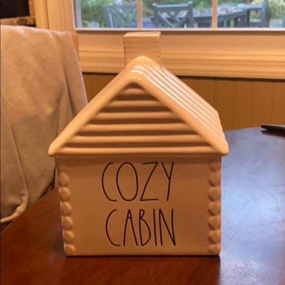 Rae Dunn cozy cabin